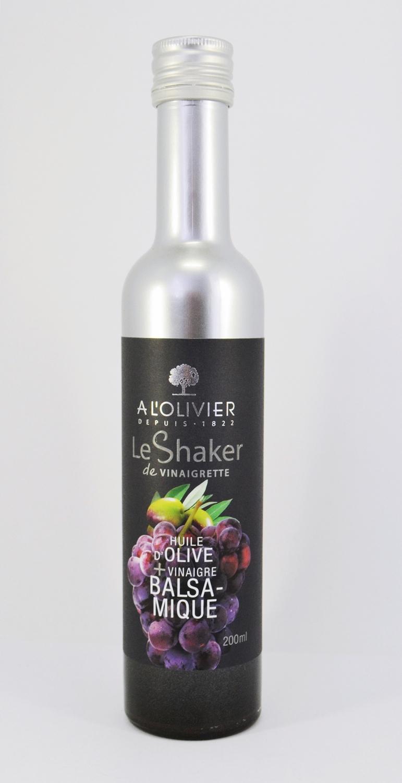 Alyvuogių aliejaus ir balzaminio acto padažas A L'OLIVIER, 200ml