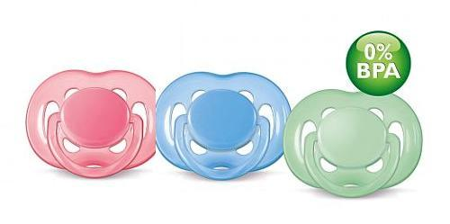 Silikoninis čiulptukas PHILIPS AVENT FreeFlow N1 6-18 mėn. kūdikiams, 1 vnt.