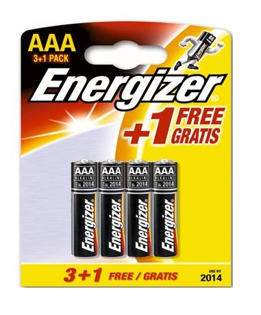 Baterija Energizer Base FSB AAA , 3+1 vnt