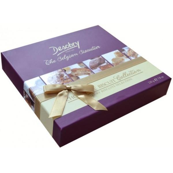 Belgiški šokoladiniai sausainiai DESOBRY, 220g