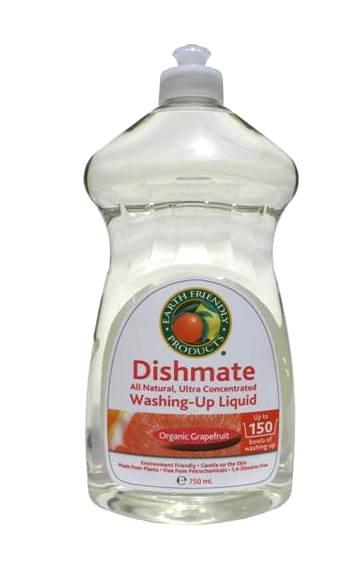 EARTH FRIENDLY PRODUCTS Organic Grapefruit koncentruotas greipfruktų kvapo indų ploviklis, 750ml