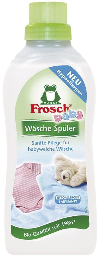 FROSCH Baby audinių minkštiklis kūdikių rūbams (antialerginis), 750ml