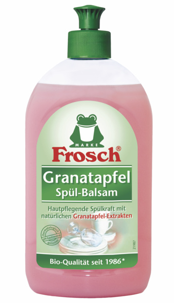 FROSCH Granatapfel balzaminis indų ploviklis granatų kvapo, 500 ml