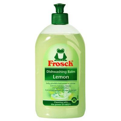 FROSCH Lemon indų plovimo priemonė – balzamas su citrina, 500ml