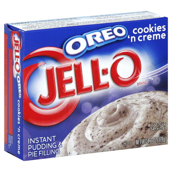 Greitai paruošiamas pudingas su sausainiais OREO Jell-o, 119g