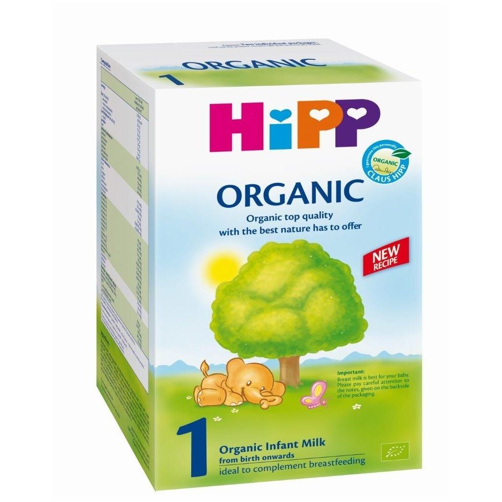 Ekologiškas pradinio maitinimo pieno mišinys BIO HiPP 1 kūdikiams nuo gimimo iki 6 mėn., 800 g (2019)