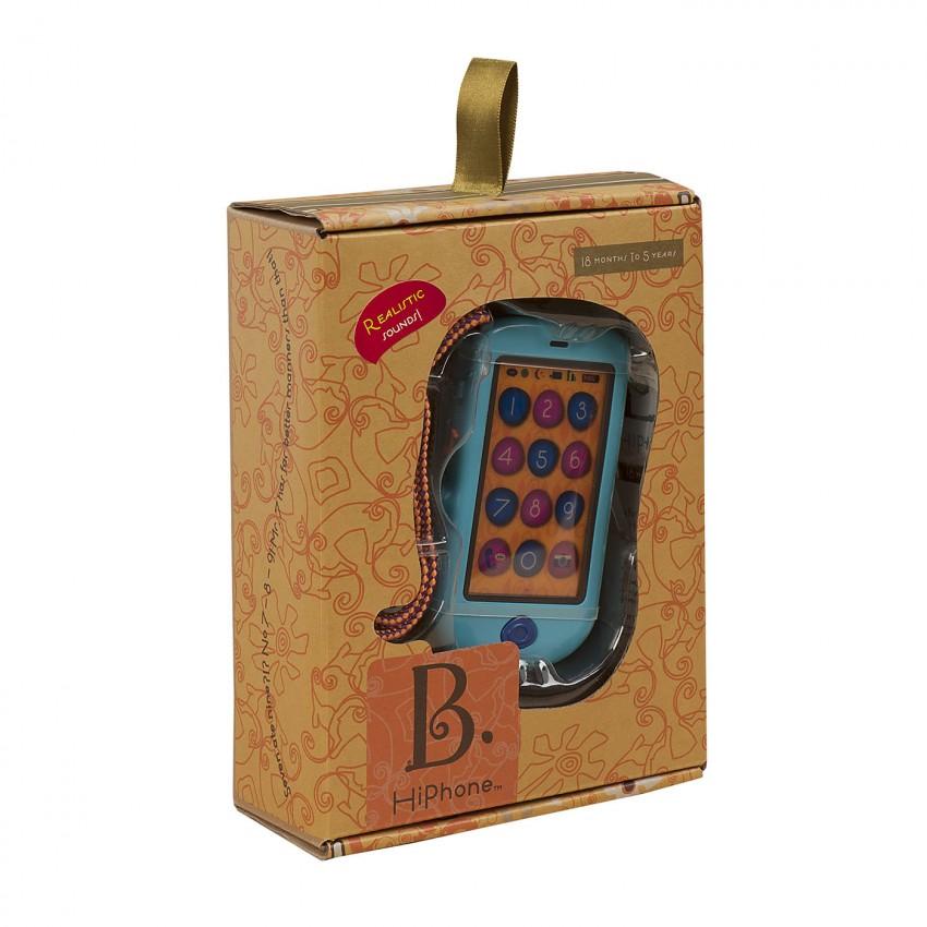 Išmanusis telefonas su garsais ir šviesa B-TOYS 18 mėn.-5 m. vaikams (BX1223Z)