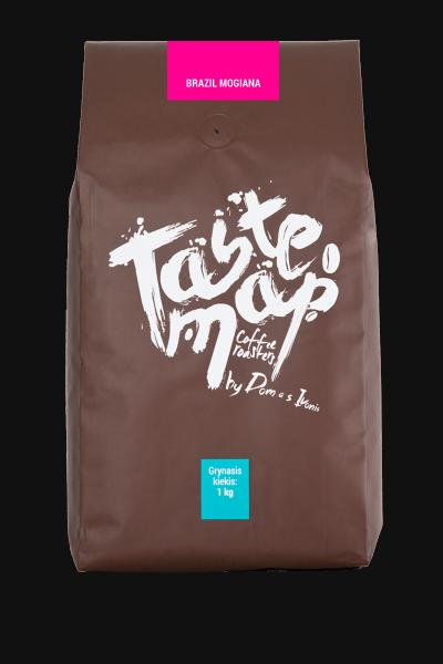 Kava pupelėmis Arabica BRAZIL MOGIANA, 1kg