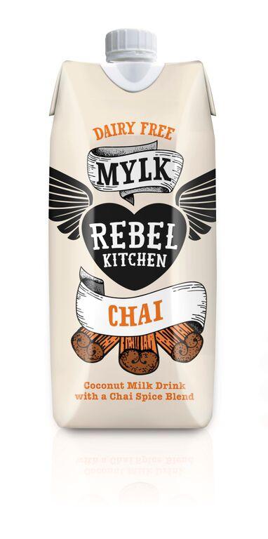 Kokosų pieno gėrimas su chai prieskoniais REBEL, 330ml
