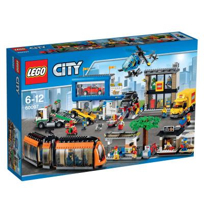 Konstruktorius LEGO City Miesto aikštė 6-12 m. vaikams (60097)