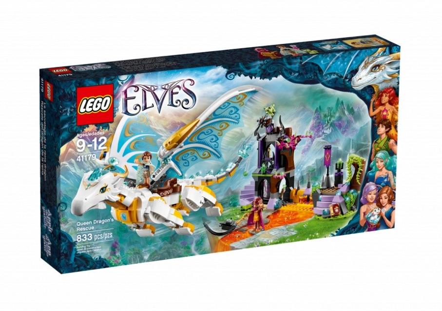 LEGO Elves Drakonų karalienės gelbėjimas, 9-12 m. vaikams (41179)