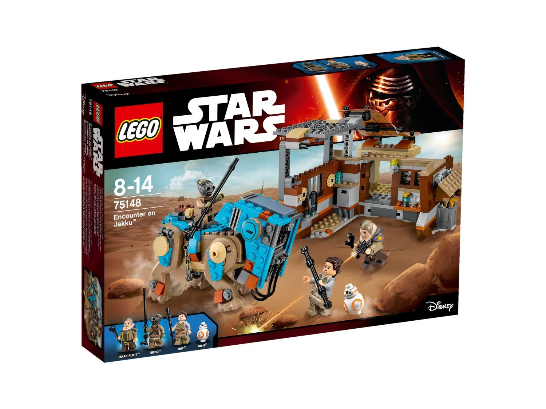 LEGO Star Wars TM Susidūrimas su Jaku, 8-14 m. vaikams (75148)