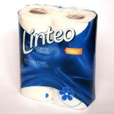 LINTEO Classic popieriniai rankšluosčiai, 2 rulonai