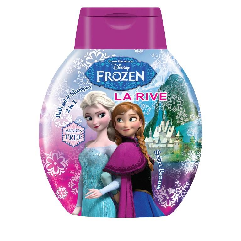 MADINGAS IR ŽAISMINGAS dušo gelis-šampūnas Frozen, 250 ml