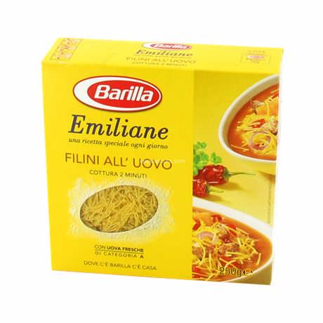 Makaroniukai VAIKAMS PLONIUKAI, Filini All' Uovo Barilla, Emiliane, 250 g