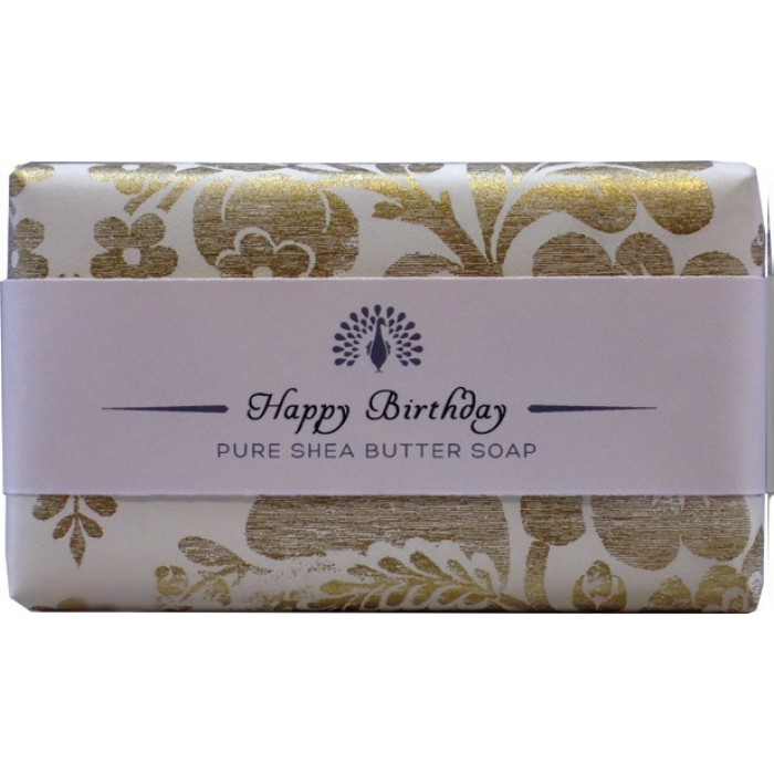 Muilas dovanoms HAPPY BIRTHDAY, Lavender, English Soap, 200 g