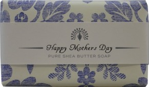 Muilas dovanoms HAPPY MOTHERS DAY, Bluebell English Soap, 200 g