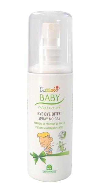 Purškiama priemonė kūdikiams nuo uodų ir erkių įkandimų NATURA HOUSE Baby Cucciolo, 100 ml