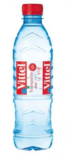 Natūralus, negazuotas, švelnios mineralizacijos vanduo VITTEL, 500 ml