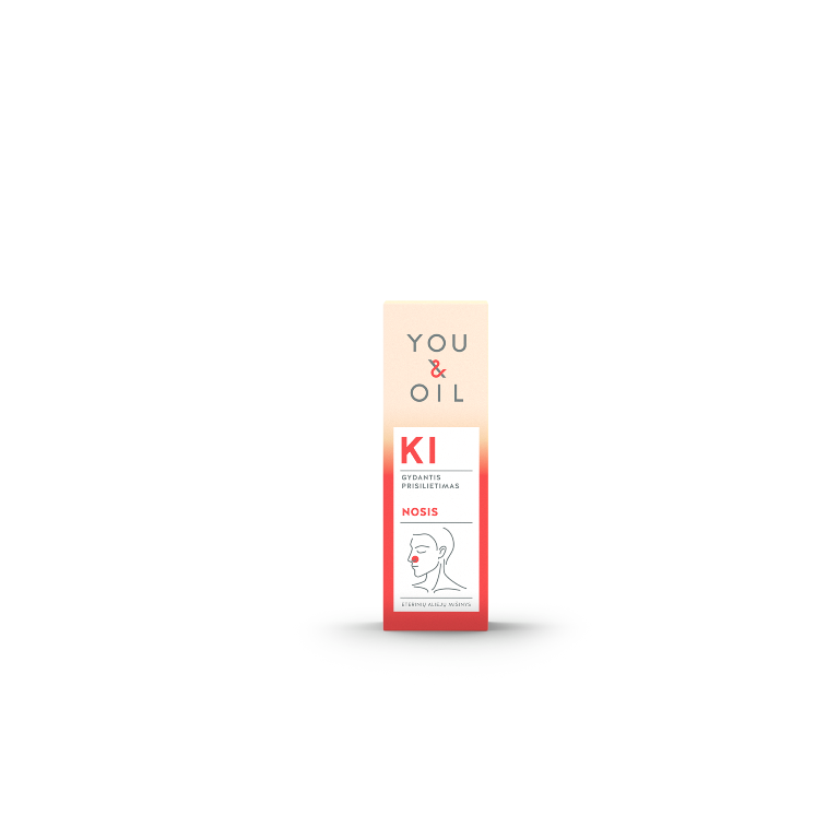 Biologiškai aktyvus eterinių aliejų mišinys Nosis YOU&OIL KI, 5 ml