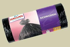 Šiukšlių maišai PACLAN Economic 35 L, 20vnt.