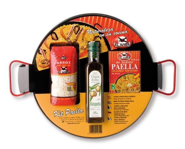 Paella rinkinys su keptuve (4 asmenims ) EL AVION