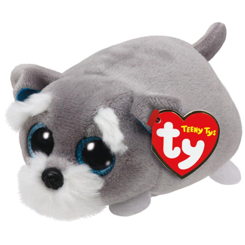 Pilkas šuniukas Jack TY TEENY TYS vaikams nuo 3 metų (42164)
