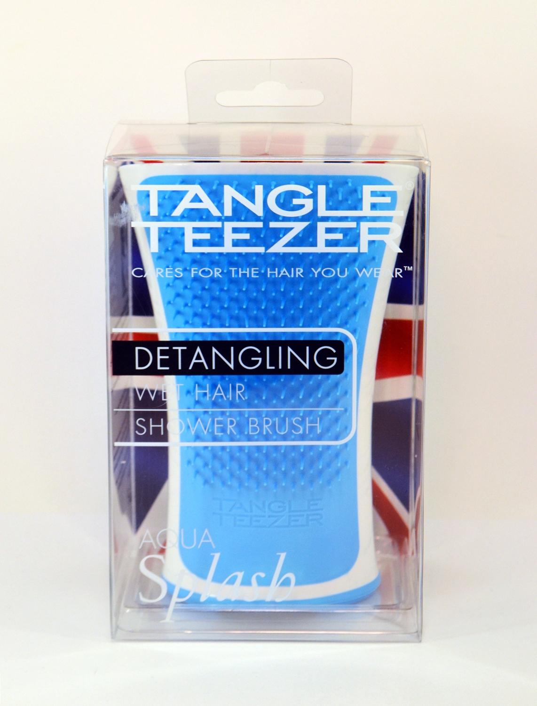 Plaukų šepetys mėlynas Tangle Teezer Aqua Splash, 1 vnt.