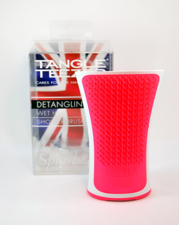 Plaukų šepetys rožinis Tangle Teezer Aqua Splash, 1 vnt.
