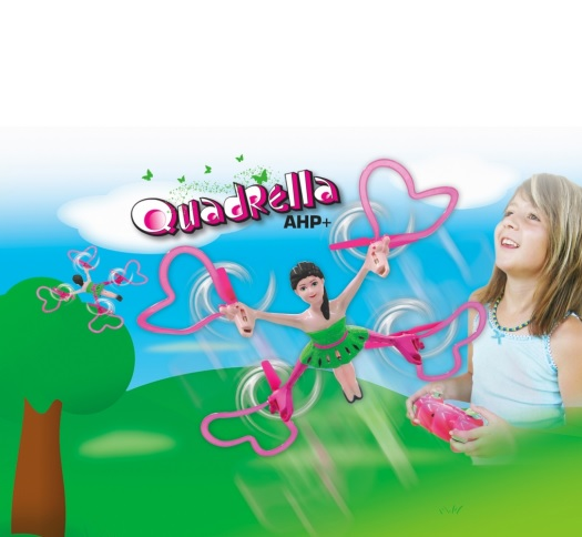 Quadrella AHP+ dronas, vaikams nuo 14 m., Jamara (422008)