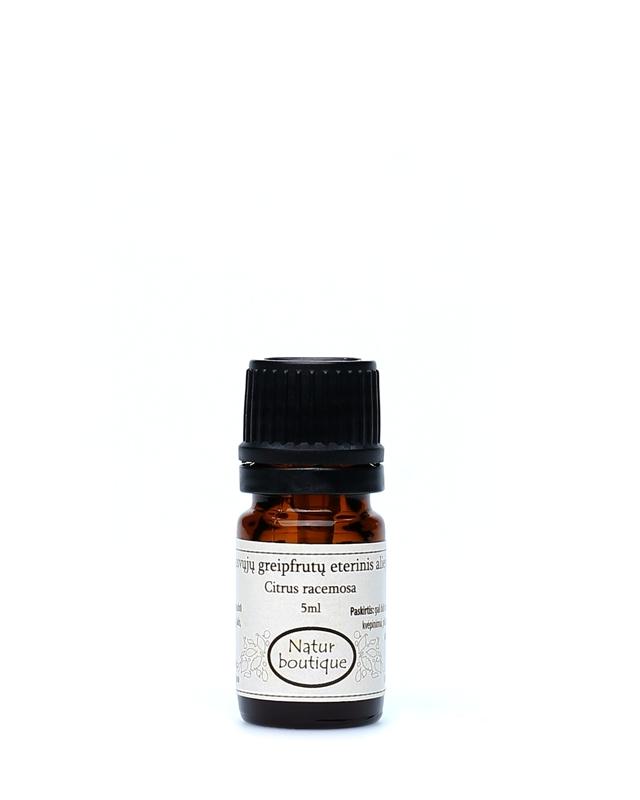 Rausvųjų greipfrutų  eterinis aliejus NATUR BOUTIQUE, 5 ml
