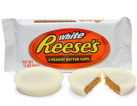 Krepšeliai su baltuoju šokoladu ir žemės riešutų sviestu REESE'S, 42g