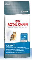 ROYAL CANIN  Light maistas nuo 1 metų ir vyresnėms suaugusioms katėms, turinčioms polinkį į viršsvorį, 2kg