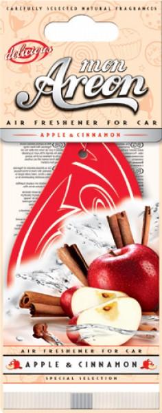Salono oro gaiviklis obuolių ir cinamono kvapoAREON MON DELICIUOS , 1 vnt