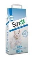 SANICAT Value Non Clumping nesušokantis kraikas katėms, 5 l
