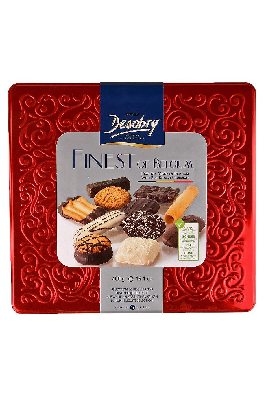 Sausainių rinkinys  Finest of Belgium DESOBRY, 400g