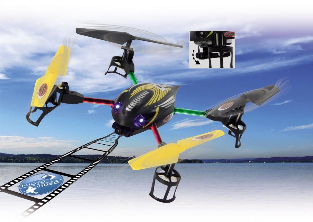 Skraidyklė – dronas Q-drohne, vaikams nuo 14 m. Jamara (038831)