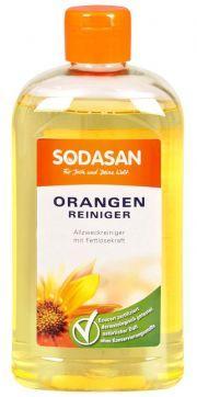 Ekologiška universali valymo priemonė SODASAN su apelsinų aliejumi, 500ml