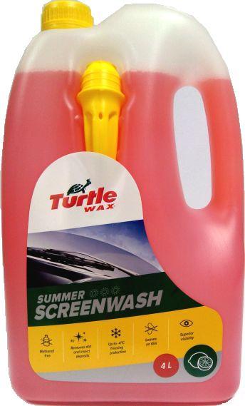 Stiklų ploviklis Turtle wax,  4l  -4°C