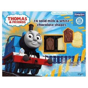 THOMAS&FRIENDS pieniško ir balto šokolado figurėlės,37g