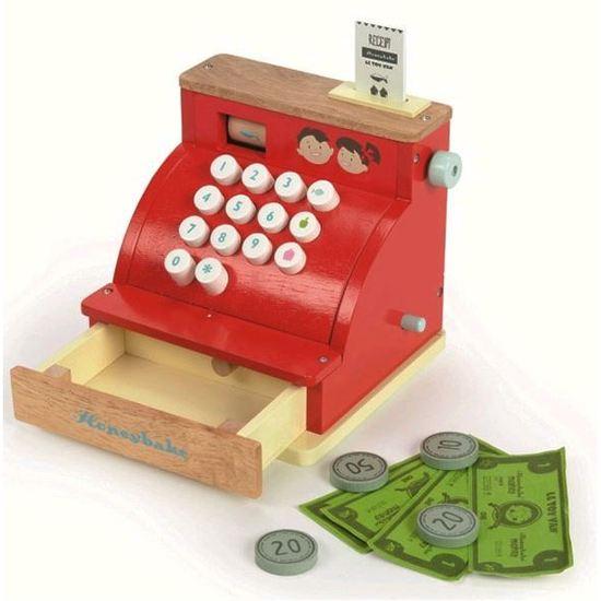 Vaikiškas kasos aparatas LE TOY VAN Honeybake vaikams nuo 3 metų (TV295)