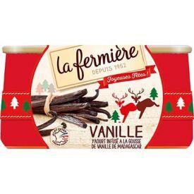 Jogurtas su madagaskaro vanile LA FERMIERE,2x140g